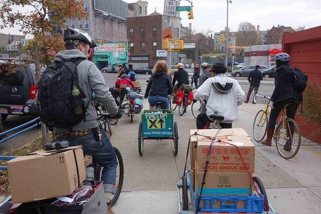 Adaptive Transportation: Bicycling Through Sandy's Aftermath