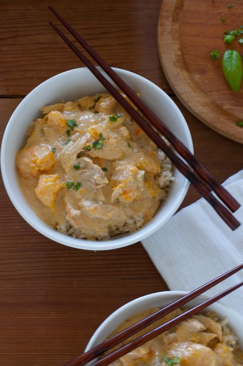 Easy Thai Yellow Curry  The Best Curry Paste EVER! This is an easy curry that anyone can make! Perfect for busy weeknight cooking.