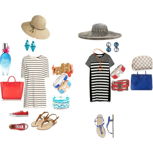 Summer by marja-valajarvi on Polyvore featuring Zara, H&M, Converse, Prada, Rebecca Minkoff, Hermès, Louis Vuitton, V by Valkeniers, Kenneth Cole and Domo Beads