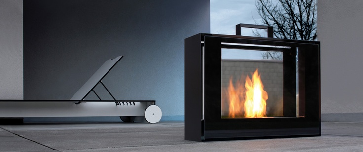 The travelling fire. The technology of smokeless fire offers one thing in particular – releasing the fire from being in a fixed place in the home..