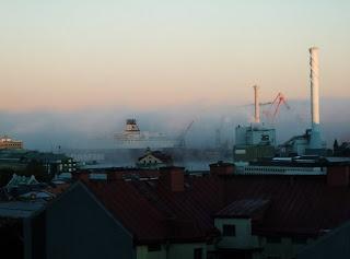 Gothenburg Foggy Harbour