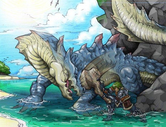 Lagiacrus. - Monster Hunter 3 Ultimate