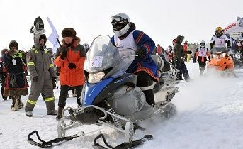 Two Russian sportsmen are among the winners of the Yamalkan Arctic race - Life: Arctic-Info