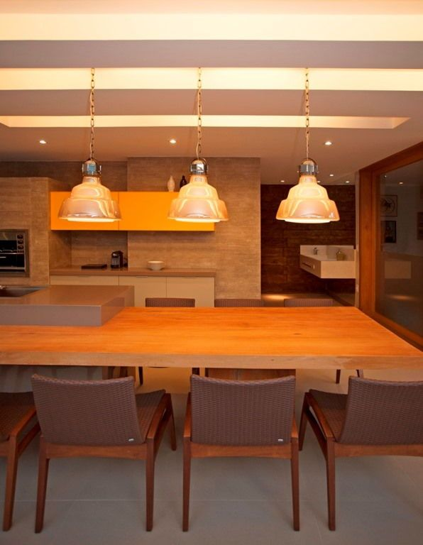 Diesel with Foscarini Glas pendants in luxurious UBHouse by Paula Martins