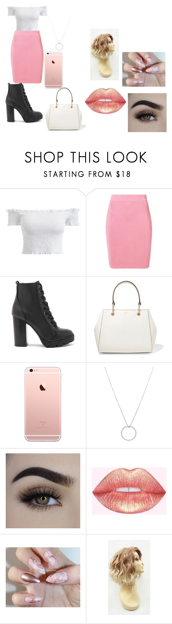 """""""Hanna PLL"""" by lauren-paul-sets ❤ liked on Polyvore featuring T By Alexander Wang, Steve Madden, DKNY, Roberto Coin, like, PrettyLittleLiars, pll and hannamarin"""