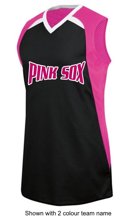 Women's softball and slo-pitch jerseys.