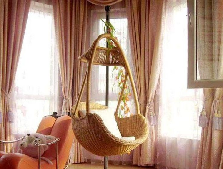 Charming Home Furniture Ideas With Chairs That Hang From The Ceiling