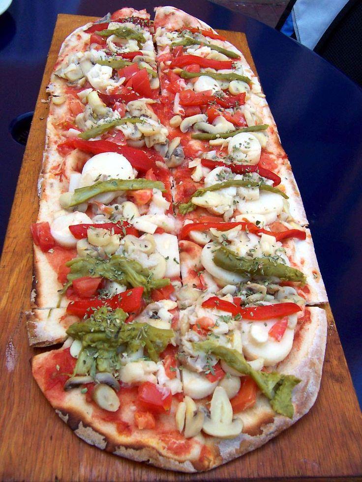 Pizza varias recetas de masas