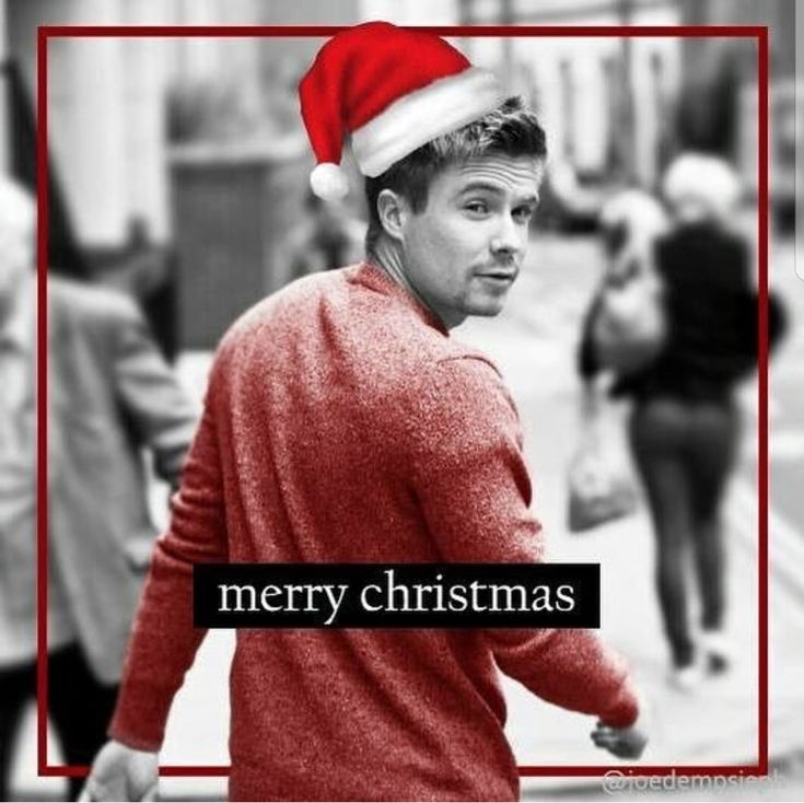 A very Merry Christmas Joe Dempsie ❤