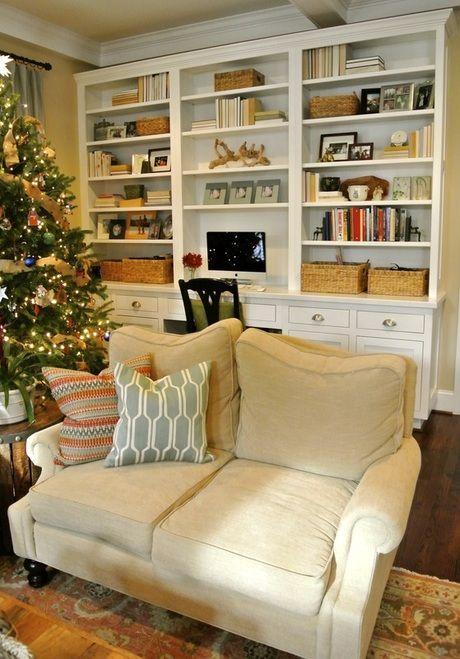 simple yet beautiful bookshelves