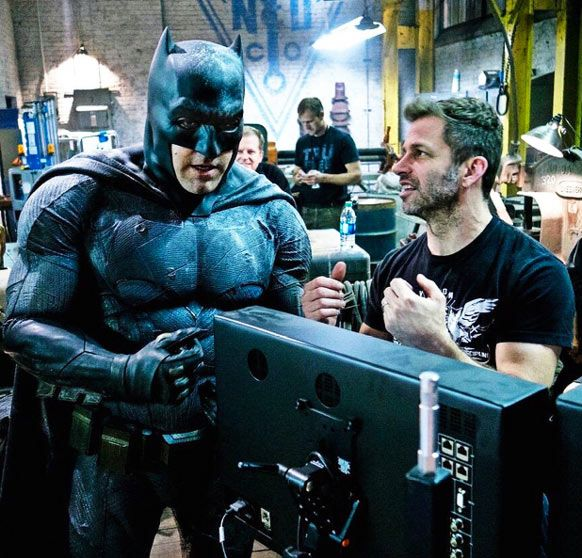 Ben Affleck Ripped as Batman Workout Routine with Director Zack Snyder