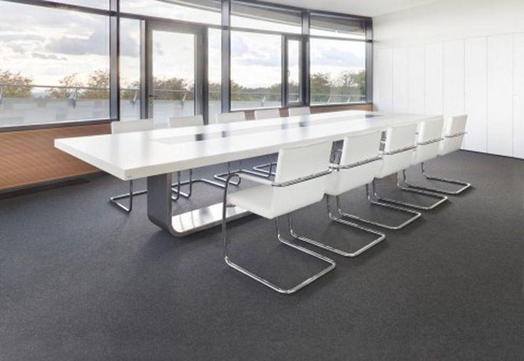 Elegant concept of home office furniture futuristic for Modern office furniture design concepts