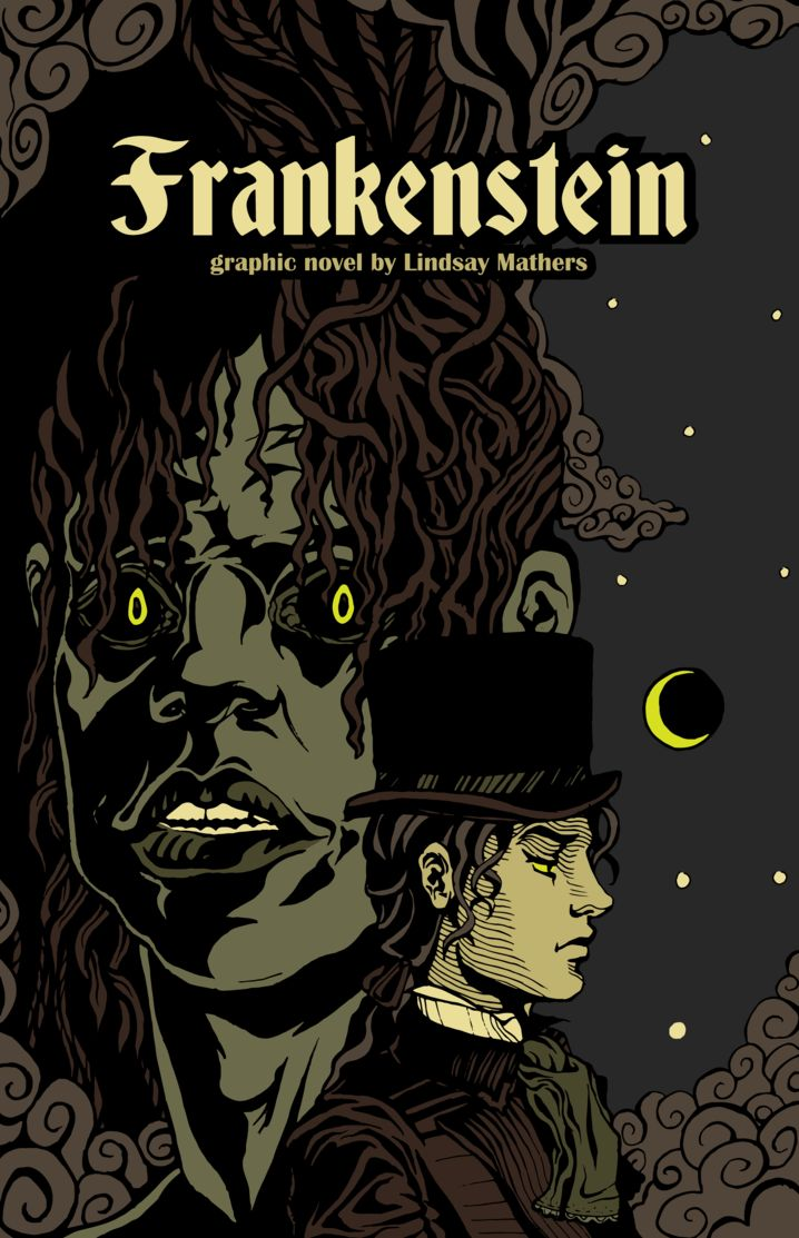 Graphic Novel Book Cover : Best books covers frankenstein images on pinterest
