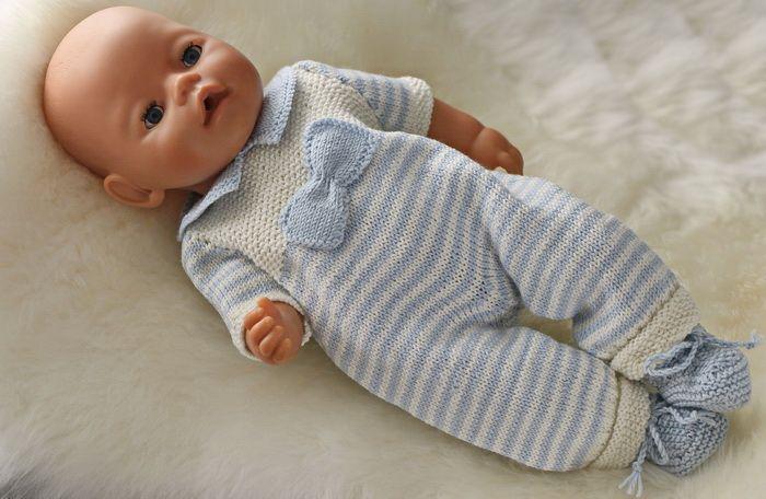 Strikkemønster Baby born