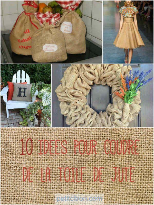 10 chouettes objets à fabriquer avec de la toile de jute Et vous, quel est votre gadget de couture préféré?