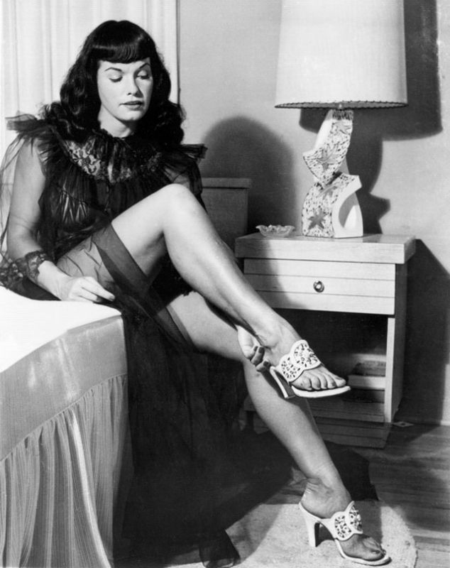 bettie page color - 248 best images about bettie page on pinterest models