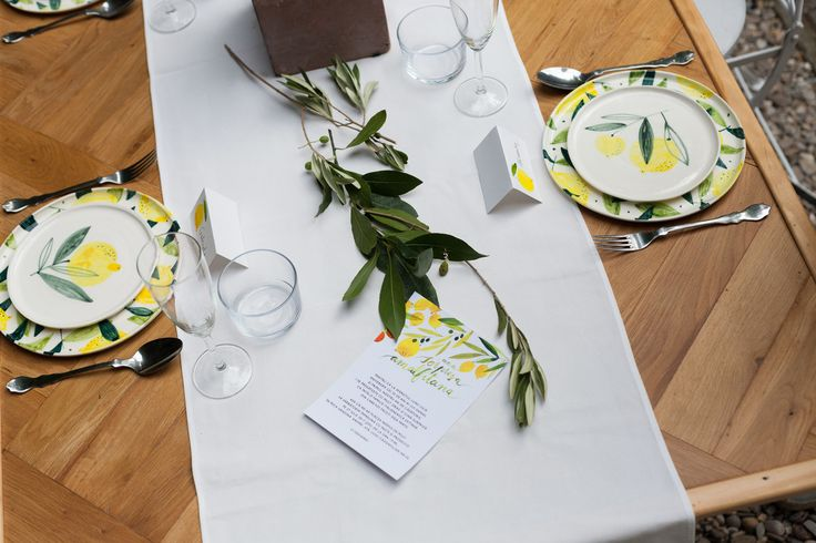 Sorpresa - private dinner setup with custom made ceramic tableware from Madalina Andronic / madiandronic.com