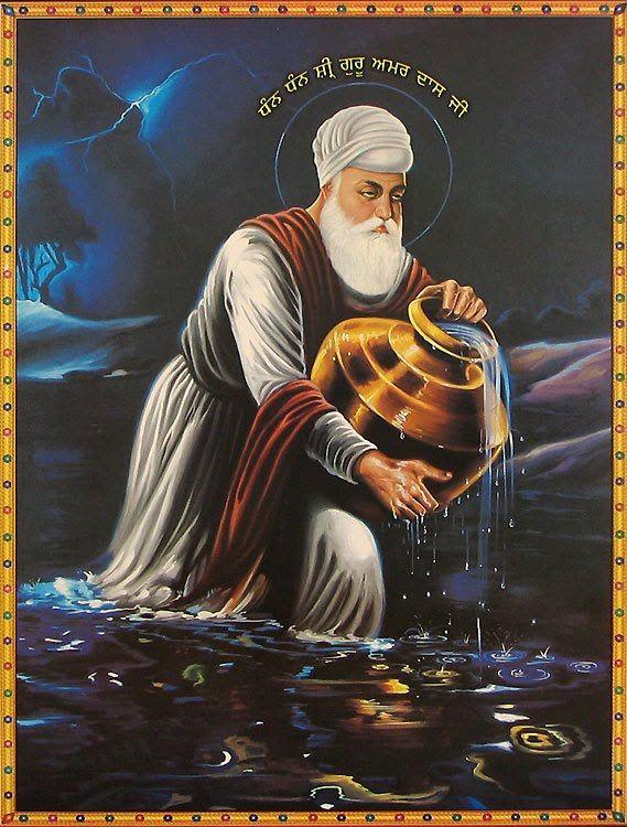 Guru Amar Daas Jee is Guru