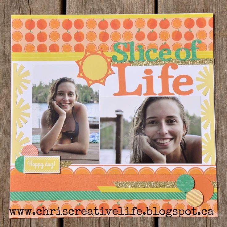 Chris' Creative Life: Stamp of the Month Blog Hop- Taste of Summer