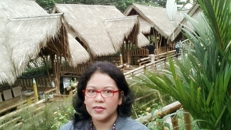 Gubug or Saung is a small cottage usually near the river in indonesia