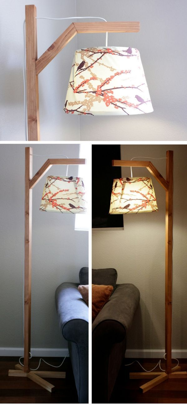 Check out an easy idea on how to make a #DIY #wooden lamp #homedecor #budget #project @istandarddesign