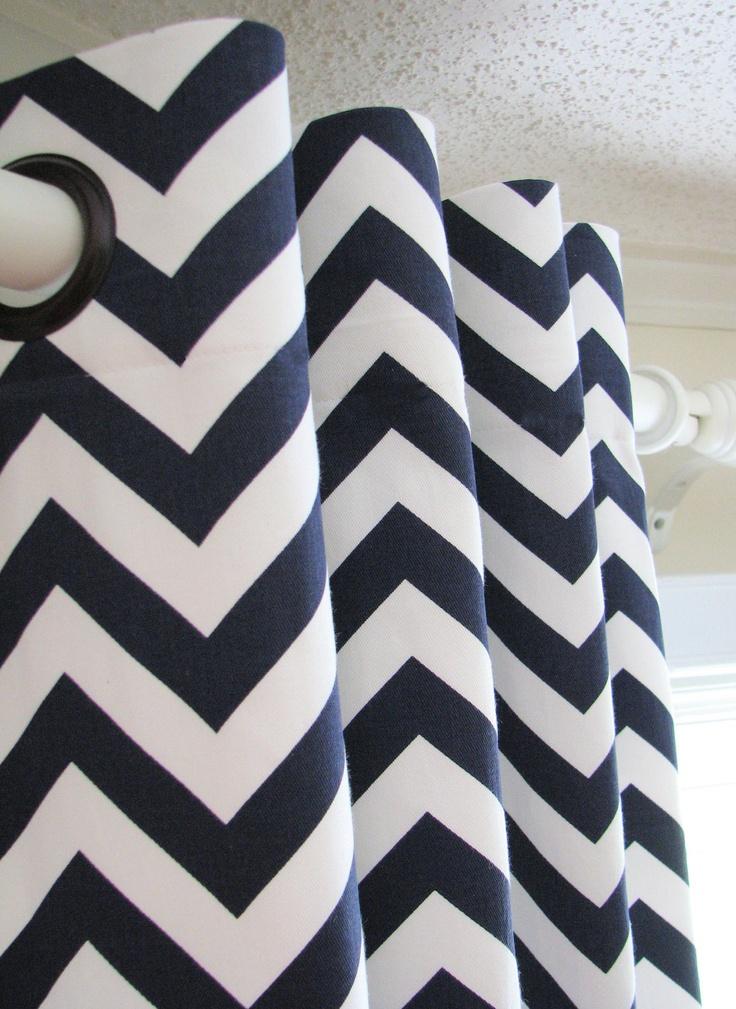 Black And White Chevron Curtains 96 | Curtain Menzilperde.Net Black And White Chevron Curtains