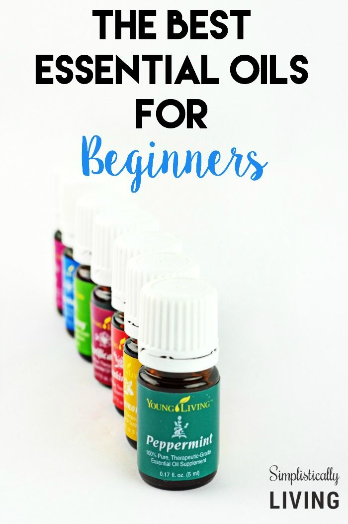The Best Essential Oils for Beginners Simplistically Living