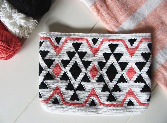 Ethnic Tapestry Crochet Bag / Tapestry Crochet Pattern /
