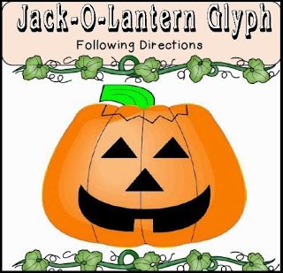 this free jack o lantern glyph uses a legend to make a pumpkin that describes individual students just by looking at the pumpkin ca - Halloween Glyphs