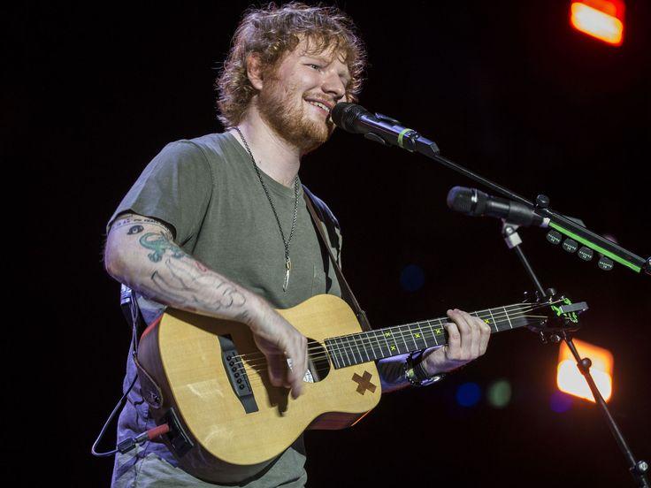 Ed Sheeran performs at Suncorp Stadium in Brisbane, Australia.   Glenn Hunt, Getty Images