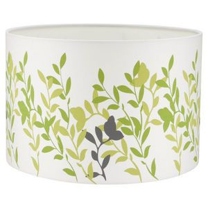 Searchlight Brent Patterned Light Shade Green