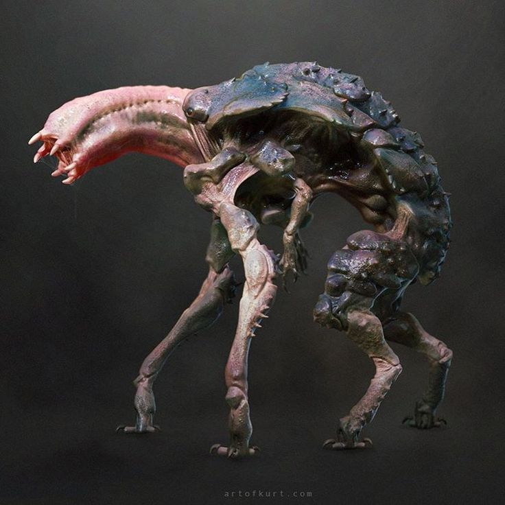 Here's some more #10cloverfieldlane creature design! Loved working on this…