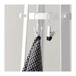 IKEA - ENUDDEN, Hanger with clip, You can also use the clip to hang up your boots so they will stay looking good longer.