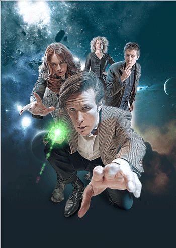 El Condensador De Fluzo: Doctor Who - 4 Gifs animados con perspectiva 3D
