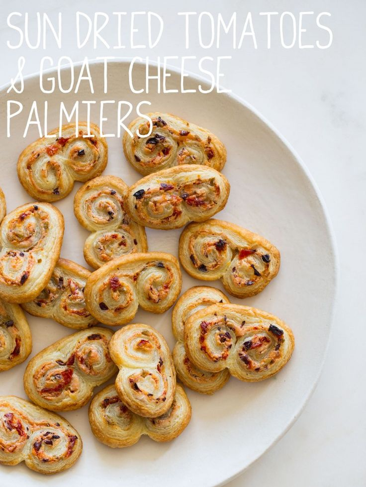 Sun Dried Tomato Olive Palmiers... and a glass of Rosso