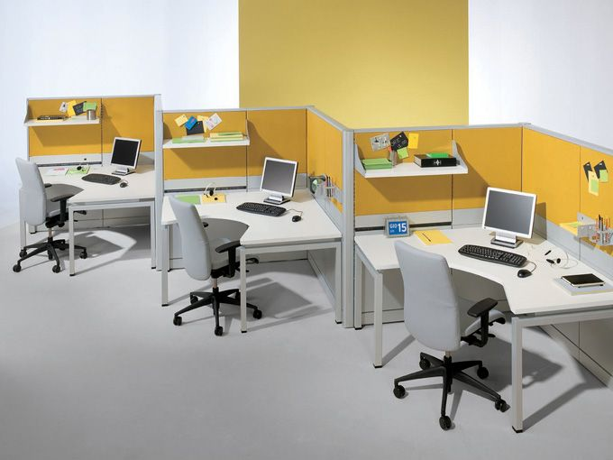 60 best decoraci n de oficinas images on pinterest for Modulos para oficina