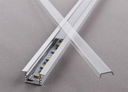 Extrusion u shape aluminum profile for led strip light $2.5~$3.7
