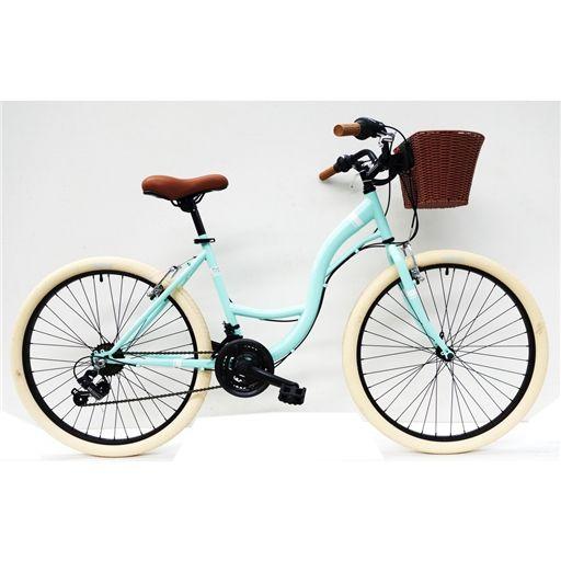 Bicicleta Pasteleira R26'' 18 V com Cesto Verde - Team Adventure - Continente Online