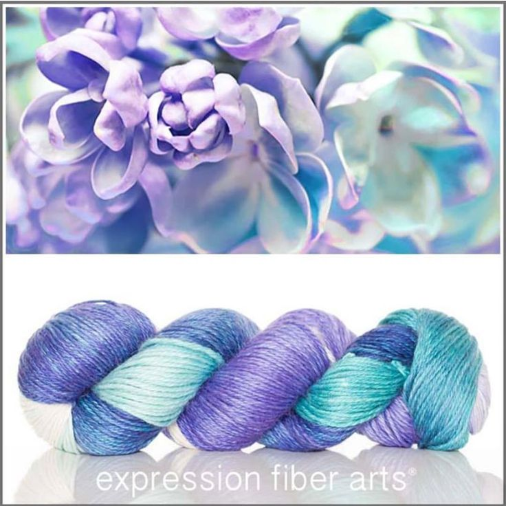 "439 Likes, 8 Comments - Expression Fiber Arts (@expressionfiberarts) on Instagram: ""Breathtaking - yep, that's the name of this new colorway!  It's dyed onto soft and glowing alpaca…"""