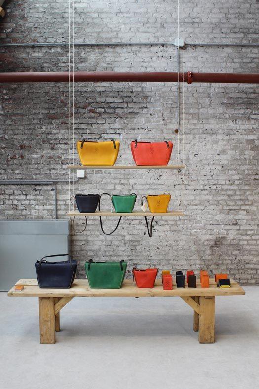 Beautiful Interieur Design Mrqt Boutique Dekowand Holzstabchen Rok ...
