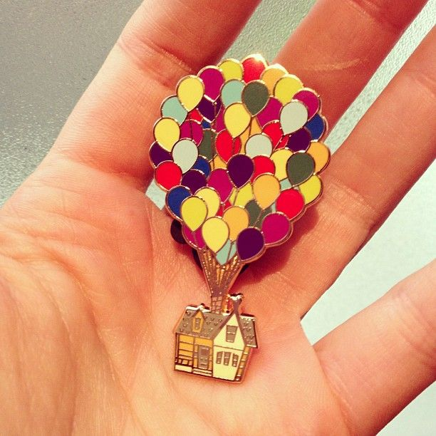 When I go to Disney and do pin trading I am definitely going to find this pin! I love up!