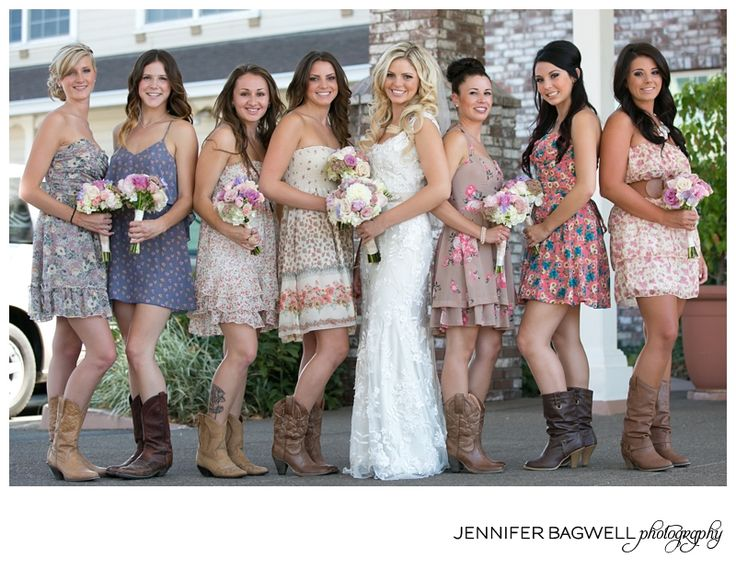 my wedding party will look like this! {country chic wedding photos, sonoma county wedding photographer}