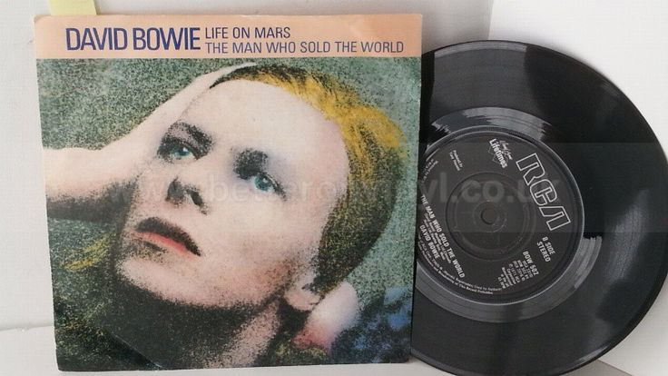 [b]SOLD[/b] DAVID BOWIE life on mars, 7 inch single, BOW 502 - SINGLES all genres, Including PICTURE DISCS, DIE-CUT, 7
