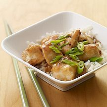 General Tso's Chicken - Weight Watcher Recipe.  My husband wants me to make him this.