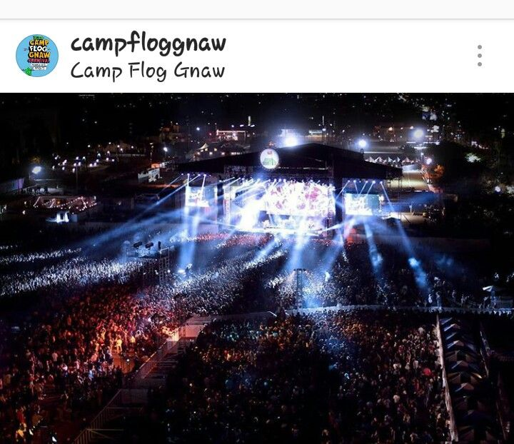 Camp Flog Gnaw 2016 Carnival in Los Angeles, CA
