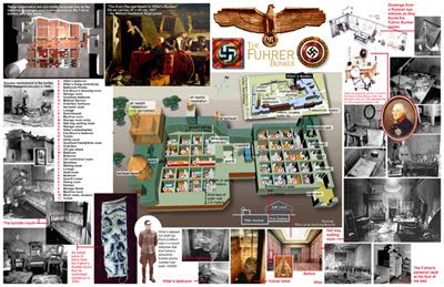 Traces of Evil: Site of Hitler's Bunker and New Reich Chancellery