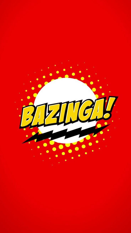 Bazinga Logo Sheldon Cooper iPhone 6 Wallpaper