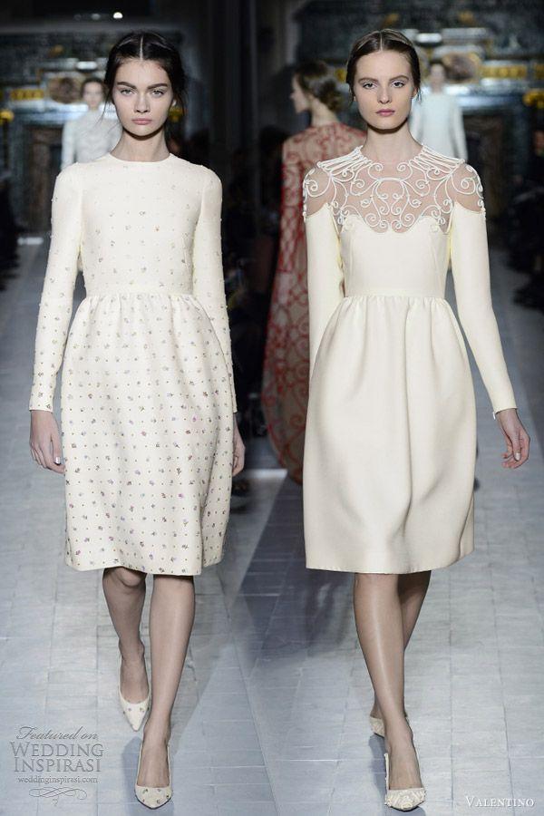 19 best mikado zibelline dresses images on pinterest for Valentino short wedding dress