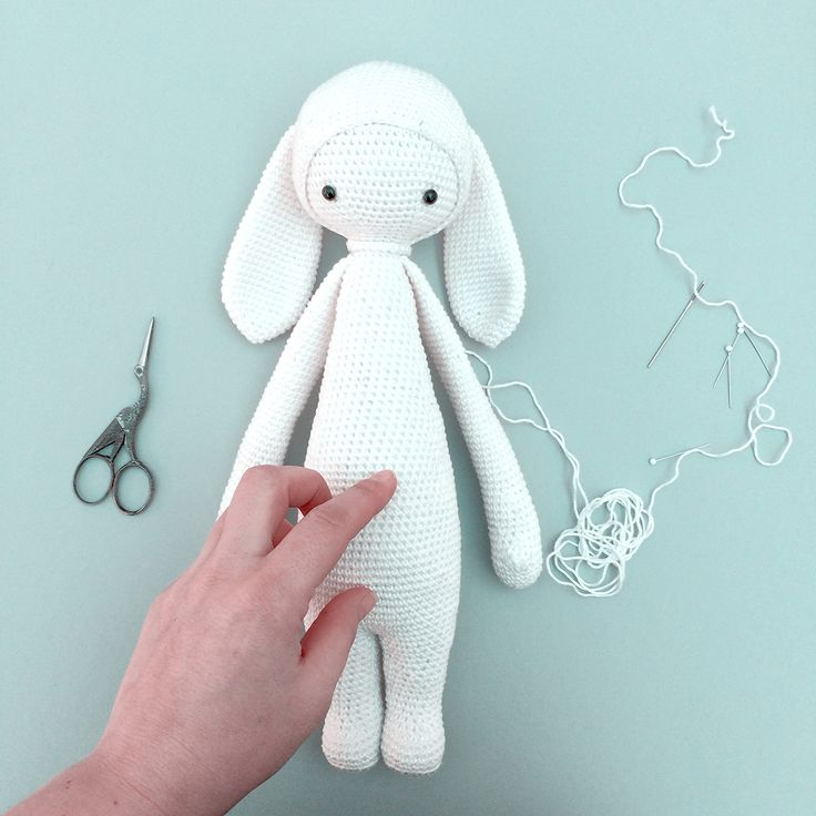 "lalylala » free bunny mod kit ""RITA the rabbit"" for lalylala dolls"