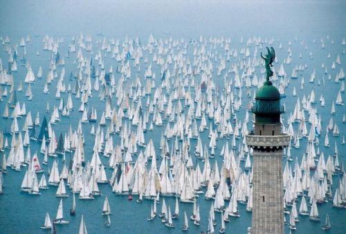 Via Enthusiasm Documented: Il Faro, Triest Italy, Faro Della, Della Vittoria, Barcolana Regatta, Place, Photo, Nautical, Sailing Boats